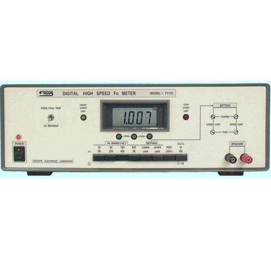 台湾阳光高速fo测试仪7117c音频测试仪